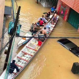 2020年5月22日 中国輸入代行会社ー広州の洪水