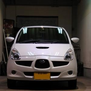 スバル R1 スマートキー&プッシュスタート ボディーリフレッシュ 東京 H様