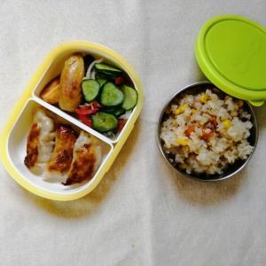 今週のわが家のお弁当、学校再開2週目でやっとペースが出来はじめてきたかな