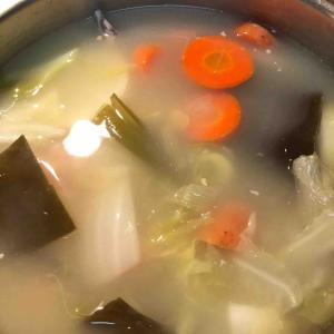 こってりスープ。