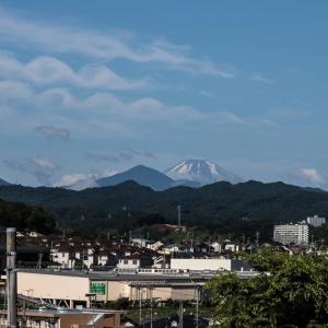 富士山 雪が少なくなりました~~!