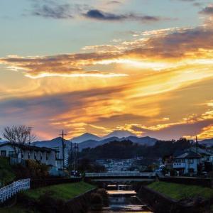 2020/11/30 満月は「半影月食」&夕暮れ富士山
