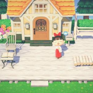 【作品ID】あつ森 マイデザイン『白いウッドデッキ』(白いウッドテラス)【Animal Crossing Designs】
