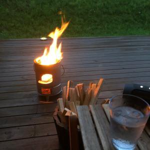 TAB の焚き火缶