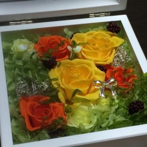 Happy Wedding☆U様お嫁さんに贈る印鑑BOX