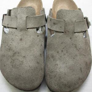 靴クリーニング~スエードサンダル・消臭殺菌・カビ取り~