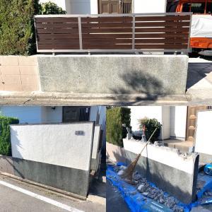 助成金を利用してブロック塀からフェンス塀にリフォームbefor→after