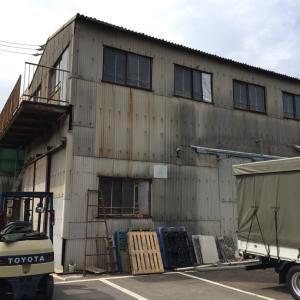 台風被害♡名古屋市瑞穂区 倉庫補修工事