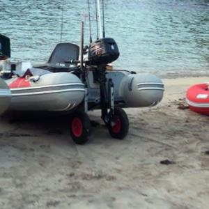 Self speaking 5 minutes about small boat fishing