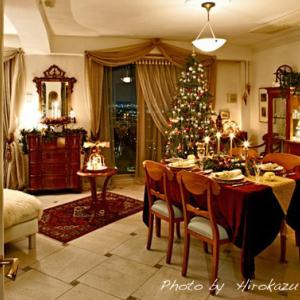 我が家のクリスマス(7年前と2年前)&テーマ色