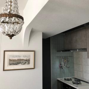 キッチンの天井と照明