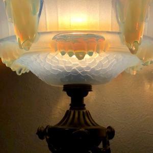 インテリアに加えたアールデコのランプ!でも。。