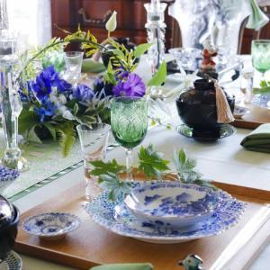 素敵過ぎるテーブルコーディネート!お花も完璧!!