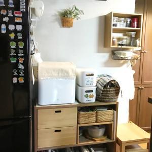 暮らし方に合わせて「キッチン収納レイアウト変更」