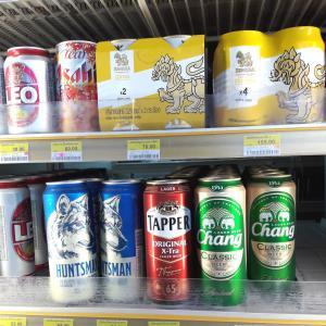 タイのセブンイレブンにて発泡酒が売られる事案が発生