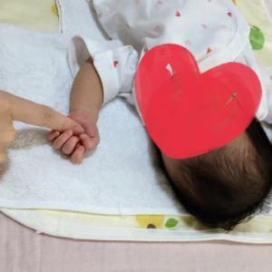 おかげ様で安産祈願のご加護もありまして、先日無事に元気な娘を出産いたしました。