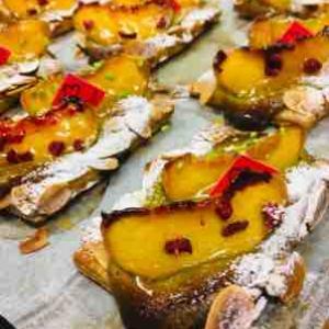 黄金桃🍑 今日はパイで!