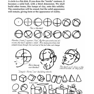 A.ルーミス「やさしい人物イラスト―どうすればうまく描けるか?」pdf