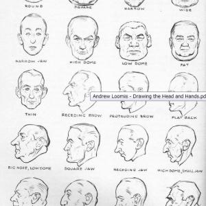 A.ルーミス「やさしい顔と手の描き方」pdf
