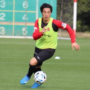 名古屋グランパス・金崎夢生が新型コロナウイルス感染 ... チームは当面練習中止 ... 7/4のJ1再開は「影響ない」