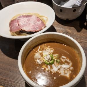 【136杯目】さばカレーつけ麺@つけ麺 一燈