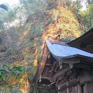 夏至の日の室山熊野神社