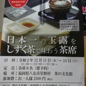 日本一の玉露を味わいませんか!!