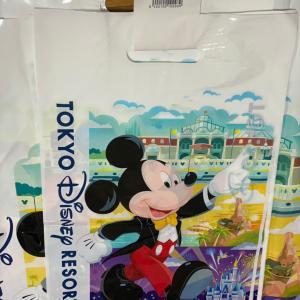 ディズニーリゾートの有料お買い物袋♪