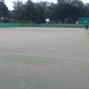 テニスサークル練習