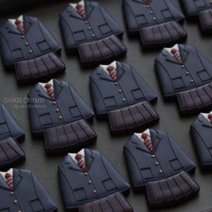 制服クッキー