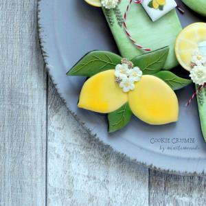 レモンのアイシングクッキー