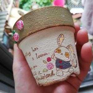 可愛い鉢^^