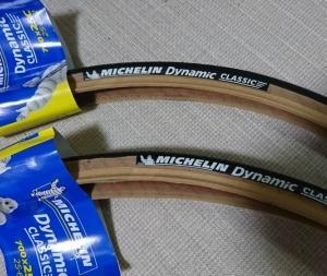 自転車のタイヤ交換しました。