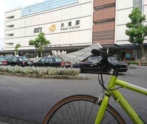 大垣市 サイクリングというより さんぽ?