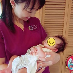 産後の出張施術