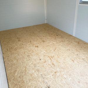 プレハブの床に敷いておくと安心な方法