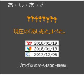 4500日