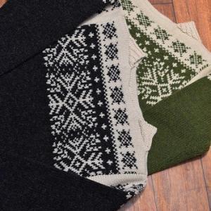 JELADO Nordic Knit ボートネックセーター