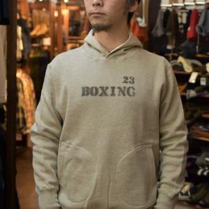 リアルマッコイズ  30s HOODED SWEAT SHIRT BOXING