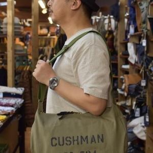 クッシュマン CANVAS MESSENGER BAG 入荷です!!
