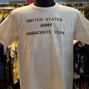 REAL McCOYS  MC20012 U.S. ARMY PARACHUTE TEAM Tシャツ