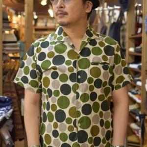ジェラード 別注ヴィンセントシャツ GREEN DOT 在庫ございます