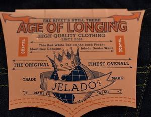 JELADO JP94301 Age of Longing 301XX 欠品サイズ入荷してきました