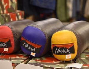 NANGA UDD BAG 180DX 入荷です