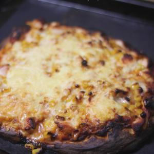 酒種で作る簡単ピザ♪