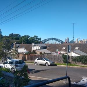 シドニーシティまでジョギング