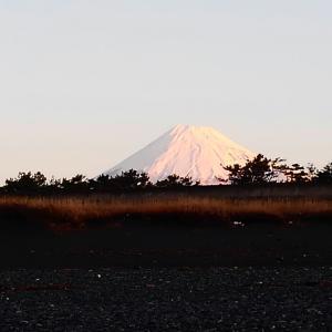 1月19日 静岡 富士海岸