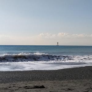 12月25日 湘南 平塚海岸