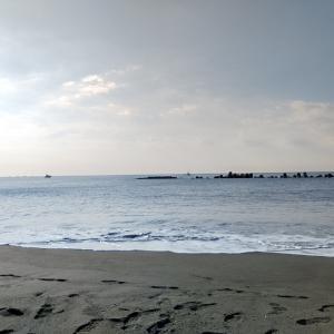 9月24日 久しぶりの平塚海岸