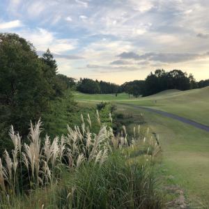 晴れているから ゴルフハーフラウンド